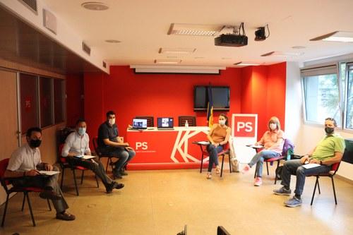 El nou Comitè Executiu del PS inicia el treball per fer un projecte guanyador