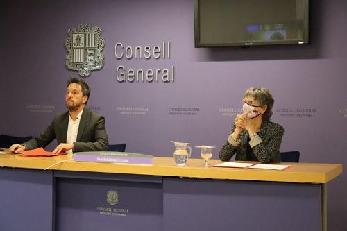 El PS demana al Govern per l'adjudicació directa de l'aplicació Salut Andorra