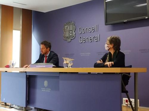 El PS retira la proposta de creació d'una comissió especial per a la reconstrucció i l'impuls econòmic i social d'Andorra