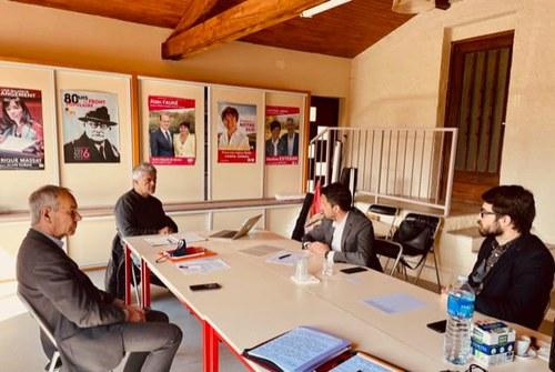 El PS treballa solucions amb representants de l'Ariège per revertir la pèrdua de presència francesa a Andorra