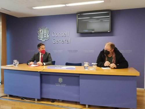 López i Font lamenten les conseqüències de la manca d'interlocució internacional del Govern