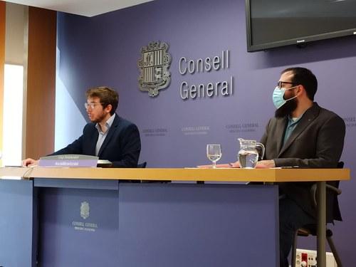Padreny i Sánchez presenten 29 esmenes al projecte de llei de l'Institut de l'Habitatge