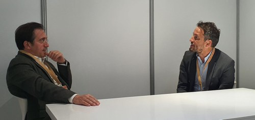 Reunió de treball entre Pere López i el ministre d'Afers Exteriors d'Espanya