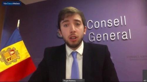 Roger Padreny aposta per la creació d'un Fòrum de joves parlamentaris dins de l'Assemblea parlamentària de l'OSCE